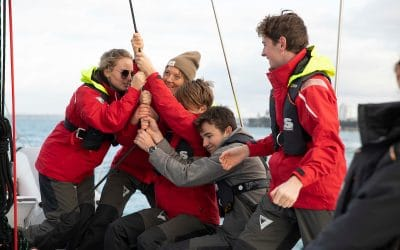 Teen sailors selected for BLAKE environmental programme