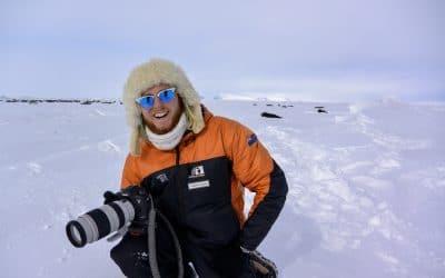 Harry's mission to unfreeze Antarctica's secrets