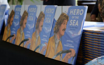 New book perfectly captures our Hero of the Sea