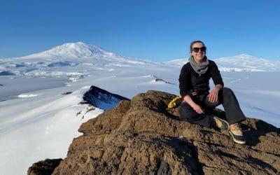 BLAKE Ambassador explores Antarctica through earth science